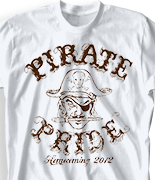 Spirit T Shirt - Pirate Pride desn-571p2