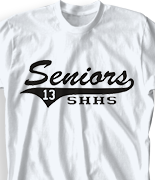 Senior Class T Shirt - Retro Tail clas-571s8