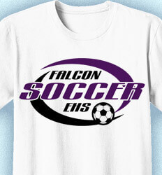 Soccer Shirt Designs - Swirl - lead-12s7