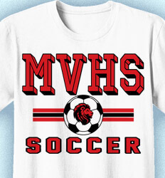 Soccer Shirt Designs - Retro Soccer - idea-335r1