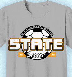Soccer Shirt Designs - State Ball - idea-351s1