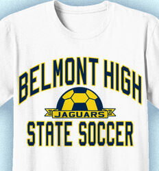 Soccer Shirt Designs - Collegiate Soccer League - idea-340c1