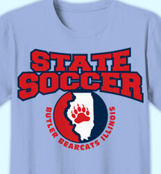 Soccer Shirt Designs - Our State Soccer - idea-338o1