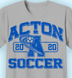 Soccer Shirt Designs - Varsity League - cool-438v2