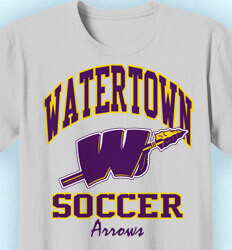 Soccer Team Shirt - Athletic Department - desn-342d3
