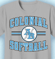 Softball Shirt Designs - Collegiate Softball - cool-892c1