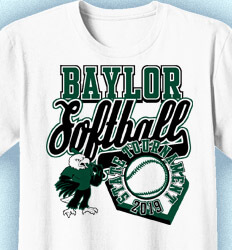 Softball T-shirt Design - Softball Tournament Day - cool-900s1