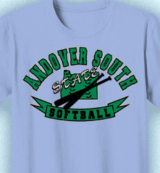 Softball T-shirt Design - Softball State Champs - cool-880s1
