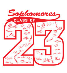 Sophomore Class Shirts Ideas - Block Year - clas-449x1