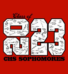 Sophomore Class Shirts Ideas - Stack Up Year - desn-601u4
