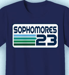 Sophomore Class Shirts - Retroactive Year - idea-422r1