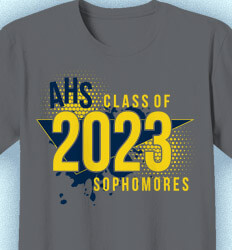 Sophomore Class Shirts - Totally 80s - idea-314t5