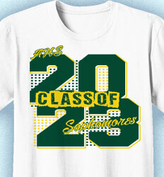 Sophomore Class Shirts - Sophomore Year Flashback - idea-406s1