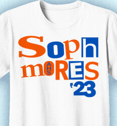 Sophomore Class Shirts - Destroyed - desn-34k6