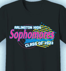 Sophomore Class Shirts - Saved By Sophomore - idea-411s1