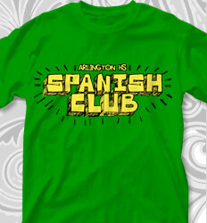Spanish Club T Designs - Chatter - clas-681s1