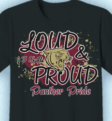 Spirit Shirts for School - Louder - cool-739l1
