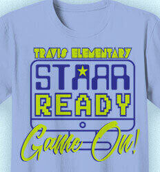 STAAR Shirts - STAAR Ready Game On - cool-973s1