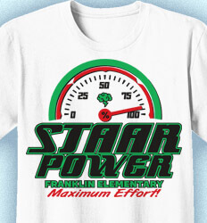 STAAR Shirts - STAAR Power Dial - cool-961s1