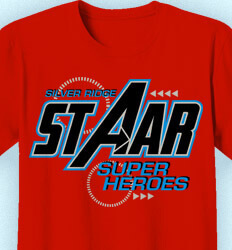 STAAR Shirts - Super Hero Theme - cool-171s3