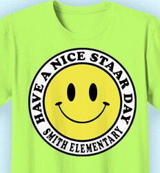 STAAR T Shirts - Vintage Smiley Face - cool-533v2
