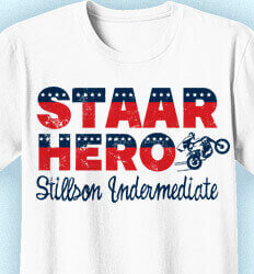 STAAR T Shirts - STAAR Hero Moto - cool-962s1