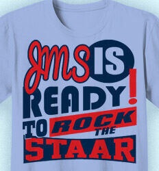 STAAR T Shirts for Teachers - Life Slogans - desn-634p1