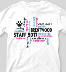 Staff Shirt Designs Staff Words cool-422s1