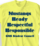 School T-Shirts - Cool Spirit School Shirt Designs - FREE Shirts