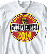 Student Council Shirt - Class Decal desn-762c4