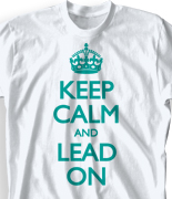 Student Council Shirt - Keep Calm desn-613k1