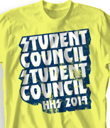 Student Council Shirt - Detroit Rock City clas-889g2