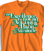 Student Council Quote Design - Excellence clas-863e1