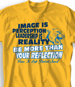 Student Council T-Shirt Designs - Cool Leadership Shirts - Free Shipping