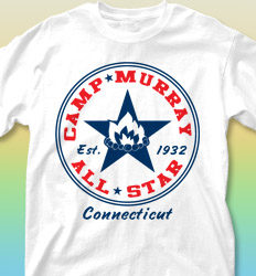 Summer Camp Shirt Design - All Star Leader desn-327a4