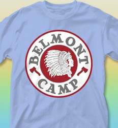 Summer Camp Shirt Design - Camper Patch cool-192c1