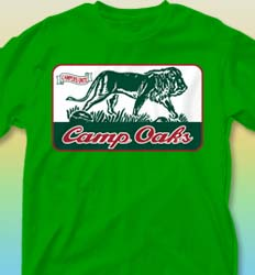 Summer Camp Shirt Designs - Courage Patch cool-189c1
