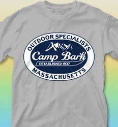 Summer Camp Shirt Design - Outdoor Emblem cool-190o1