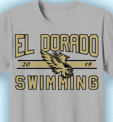 Swim Team Shirt -  Certified - desn-355d1