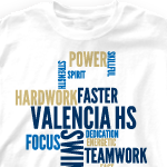 Swim Team T-Shirts - Cool Swimming Team Shirt Designs - All ...