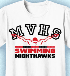 Swim Team Shirt Ideas - Dominant Stroke - cool-930d1