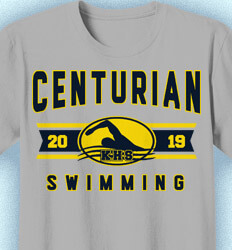Swim Team Shirt Ideas - Swim Team Classic - cool-923s1
