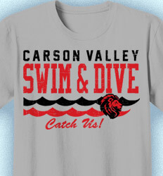 Swim Team Shirt Ideas - Varsity Wave - cool-928v1