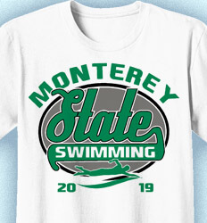 Swimming T Shirt Designs - Speedway - desn-495v4