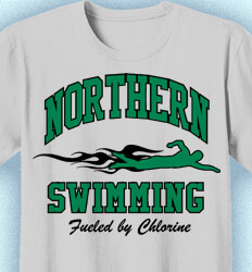Swimming T-Shirt Designs - New Vintage - desn-519t2