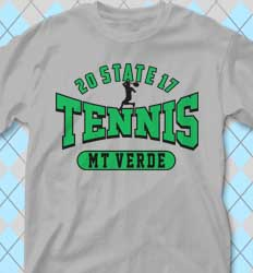 Tennis Shirt Designs - Tennis Jersey cool-443t1