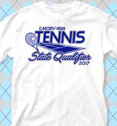 Tennis Shirt Designs Open Court cool-440o1