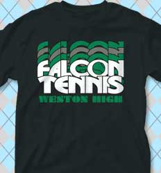 Tennis Shirt Designs - Nassau clas-792y6