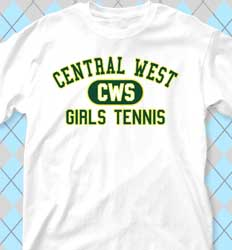 Tennis Shirt Designs - Athletics clas-480h2