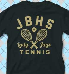 Tennis Shirt Designs Tennis Academy cool-121t1